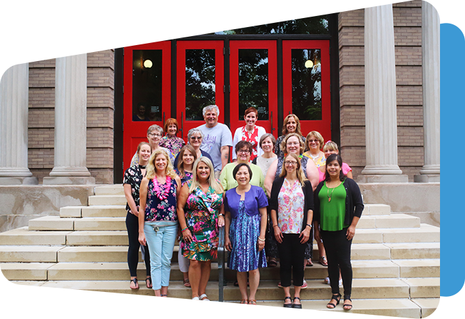 professional learning team group portrait