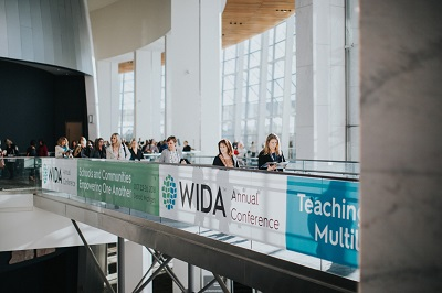 Photo of participants at the 2018 WIDA Annual Conference in Detroit.