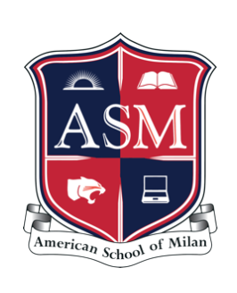 american school of milan logo